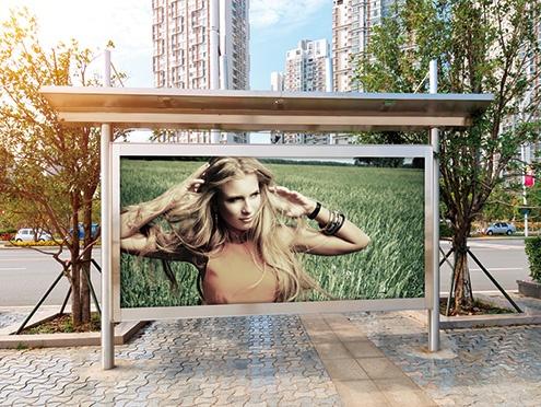 Outdoor signboard