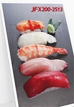 Expressed the freshness of food: Sushi