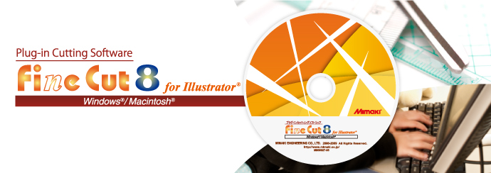 FineCut8 for Illustrator | Software | MIMAKI