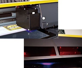 Mimaki released LED–UV-curable inks ahead of other global competitors
