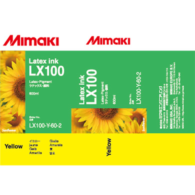 LX100-Y-60 LX100 Latex Ink pack Yellow