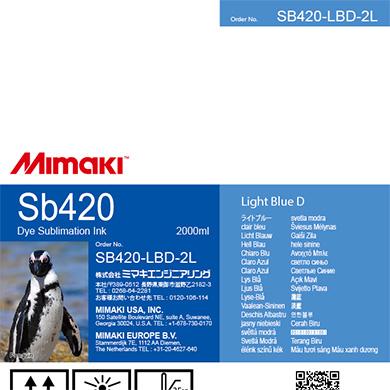 SB420-LBD-2L Sb420 Light Blue D