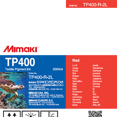 TP400-R-2L TP400 Red