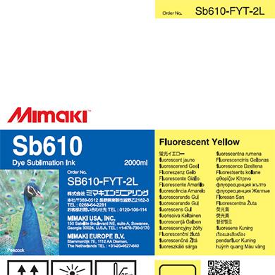 SB610-FYT-2L Sb610 Fluorescent Yellow T