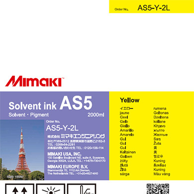 AS5-Y-2L AS5 Yellow