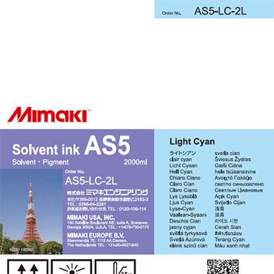 AS5-LC-2L AS5 Light Cyan