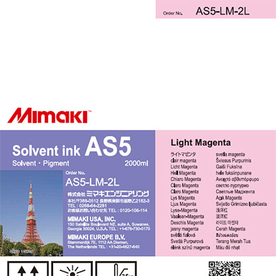 AS5-LM-2L AS5 Light Magenta