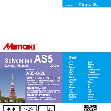 AS5-C-2L AS5 Cyan