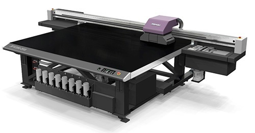 Large Format LED UV Curing Flatbed Inkjet Printer