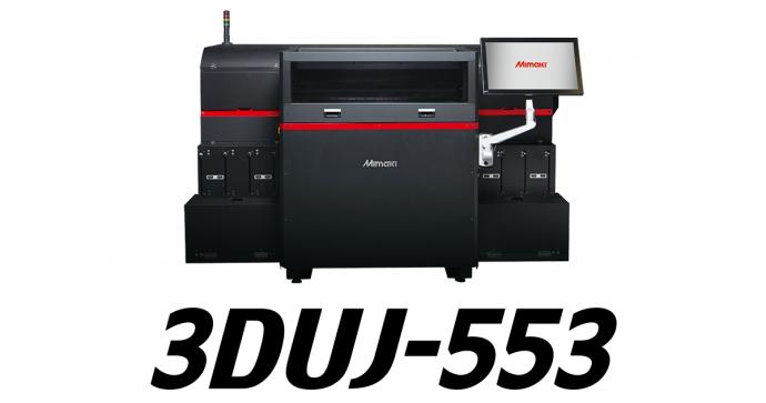 3DUJ-553: UV curable inkjet full color 3D printer