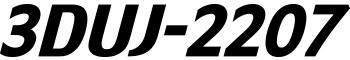 3DUJ-2207 ロゴ