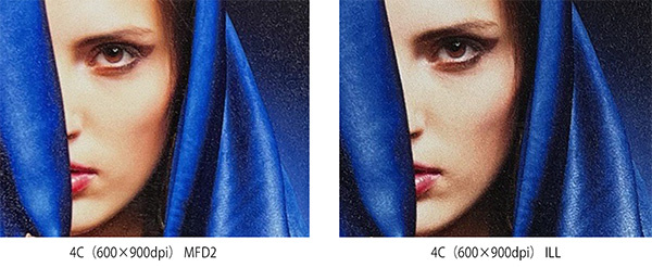 Improved image quality by supporting MFD2 (Mimaki Fine Diffusion 2)