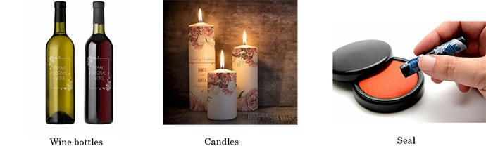 Wine bottles / Candles / Seal