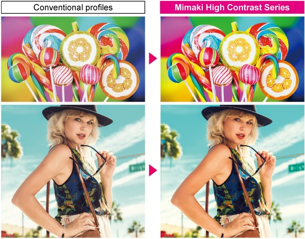 Mimaki High Contrast Series