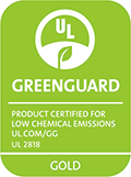 [GREENGUARD Gold] certification label