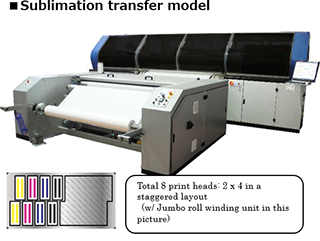 Sublimation transfer model