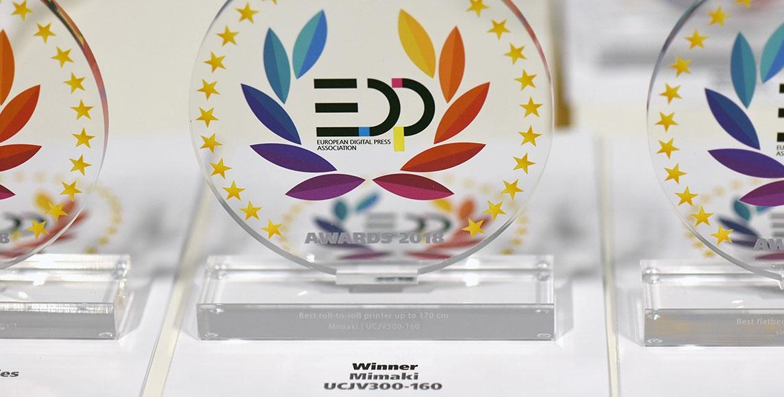 EDP Awards at FESPA 2018