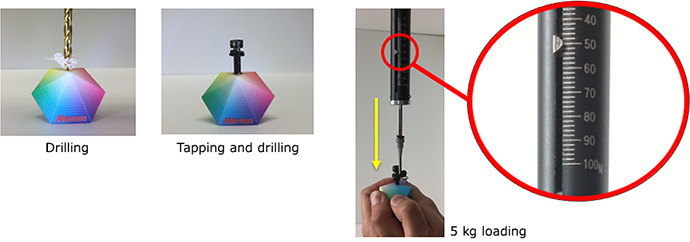 Drilling / Tapping and drilling / 5 kg loading