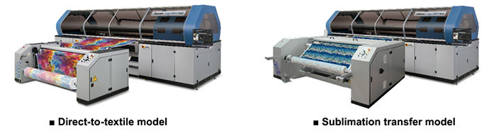 Tiger-1800B MkIII (Direct-to-textile model / Sublimation transfer model)
