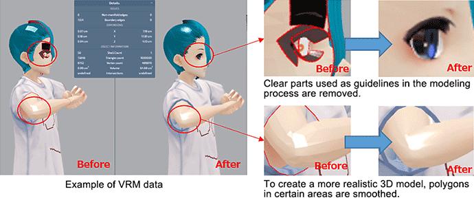 USE VRM PIPELINE (VRM data correction): Mimaki 3D Print prep Pro