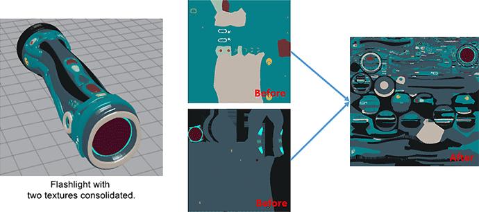 TEXTURE OPTIMIZATION (texture data optimization): Mimaki 3D Print prep Pro