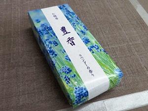 Originally developed box of incense sticks