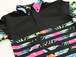 Sublimation Transfer printing (fluorescent ink)