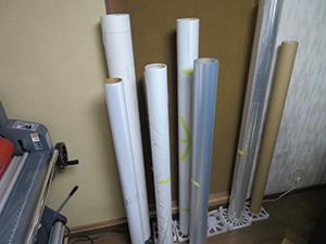 Prints on various media including transparent materials